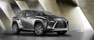 Lexus LF-NX, фото 1