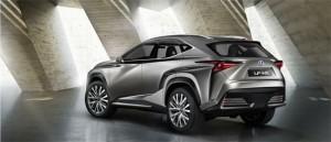 Lexus LF-NX, фото 2