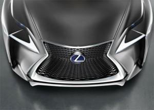 Lexus LF-NX, передняя часть