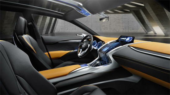 Lexus LF-NX салон