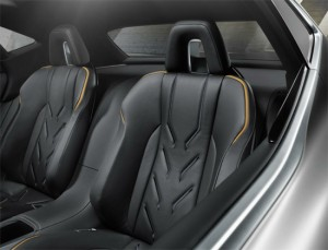 Lexus LF-NX, сидения