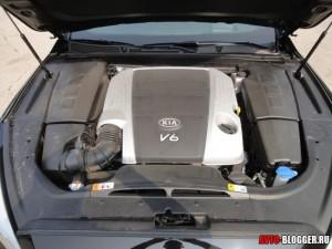 KIA Quoris двигатель, фото 1