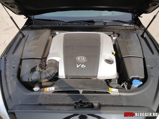 KIA Quoris двигатель