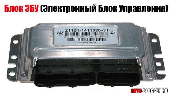 блок ЭБУ (Электронный Блок Управления)