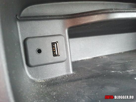 USB порт автомобиля