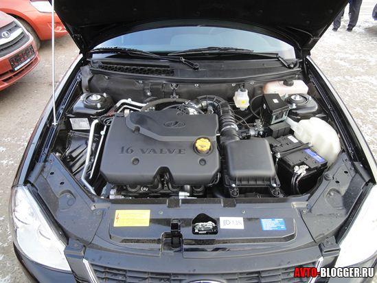 Старый двигатель Лада Приора