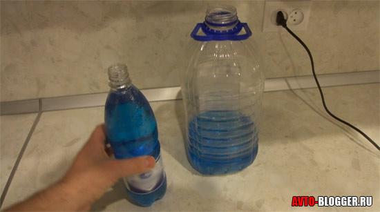 Добавляем 2 - й литр