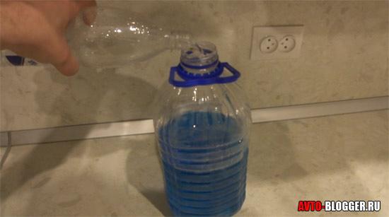 Добавляем 1 литр воды