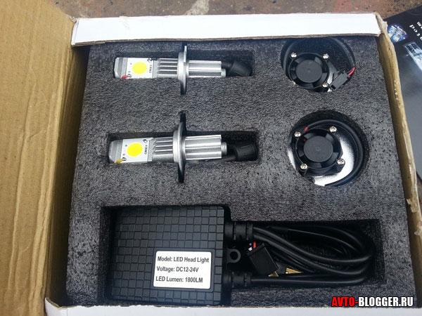 Комплект ламп