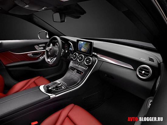 Mercedes C class 2014 салон
