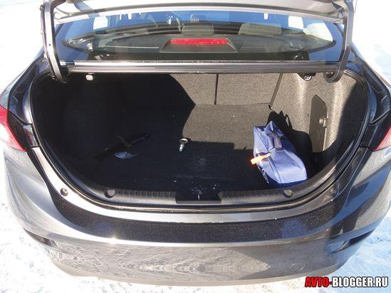 багажник mazda3