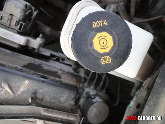 тормозная жидкость DOT 4