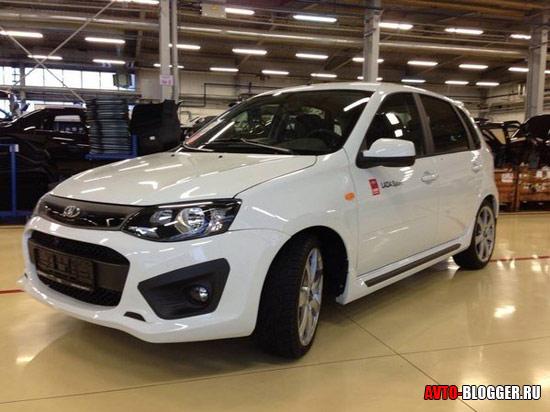 Новая LADA Kalina Sport кузов