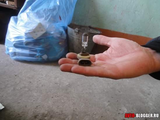 сгоревшая лампа, фото 2