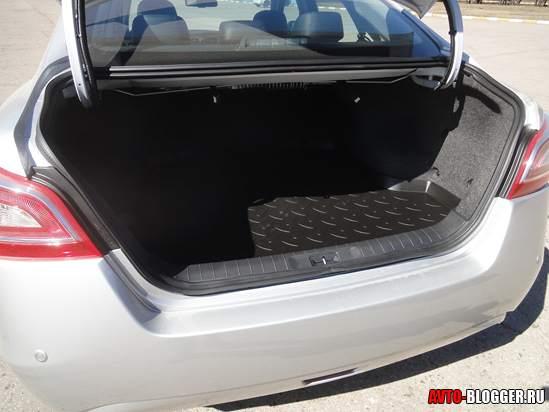 багажник Nissan Teana