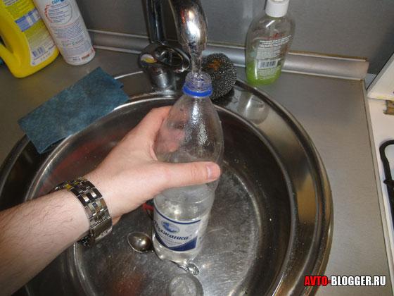 обычная вода из крана
