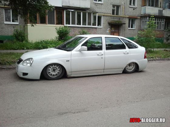 Заниженный авто