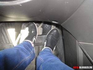 не правильное положение ног