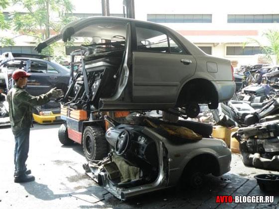 Автомобиль – конструктор из Японии