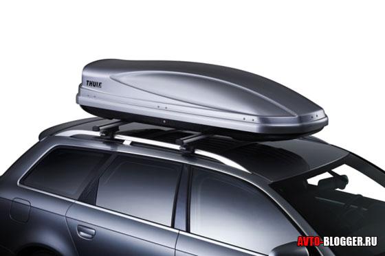Верхний багажник - автобокс