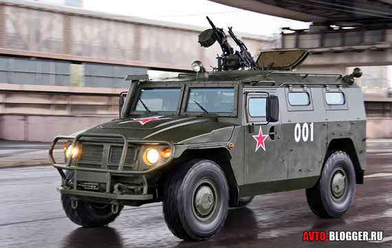 Автомобиль ТИГР
