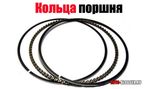кольца поршня