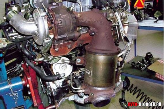 НА двигателе