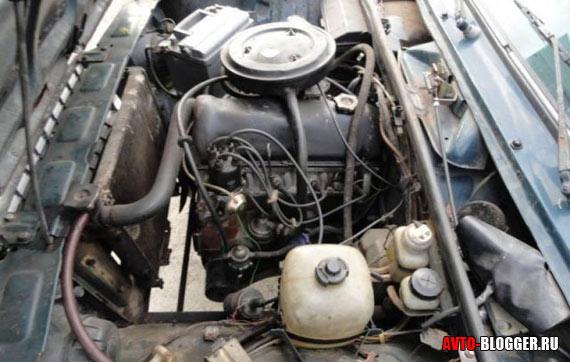 мотор классического ВАЗ