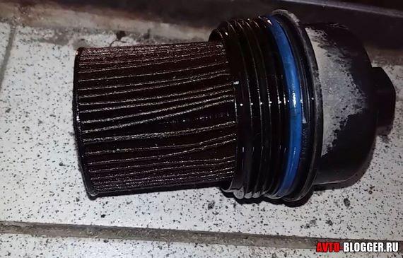 старый грязный фильтр
