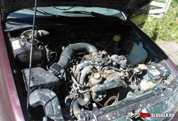 двигатель утопленника
