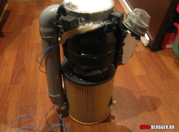 Электро турбина на авто