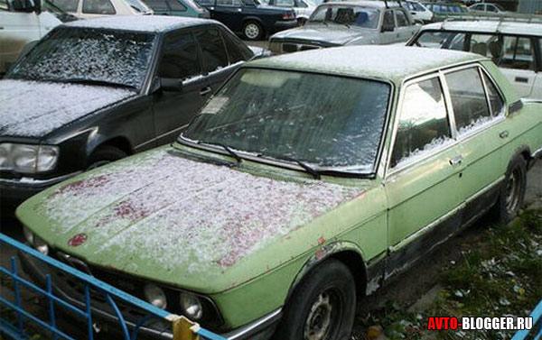 брошенный авто