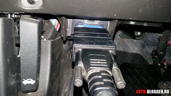 подключаем к авто