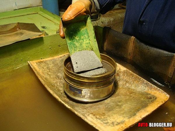 Драгоценные металлы катализатора