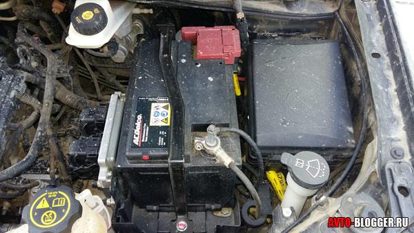 не идет зарядка на аккумулятор приора в мороз