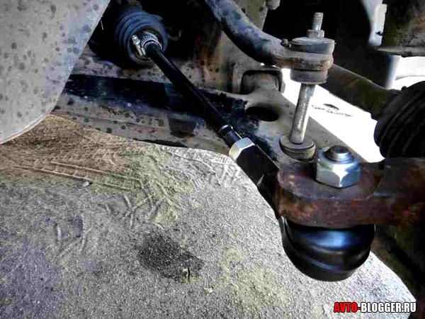 рулевые наконечники и тяги