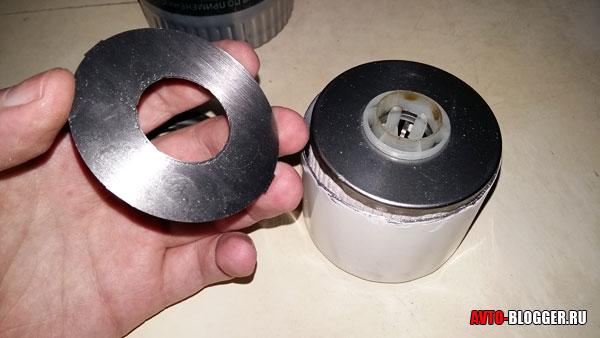 металлический антидренажный клапан