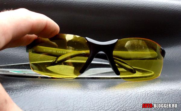 Ночные желтые очки