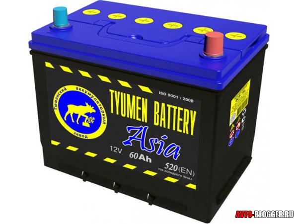 Азия аккумуляторы