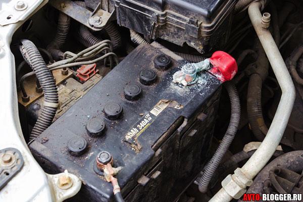 очистка аккумулятора
