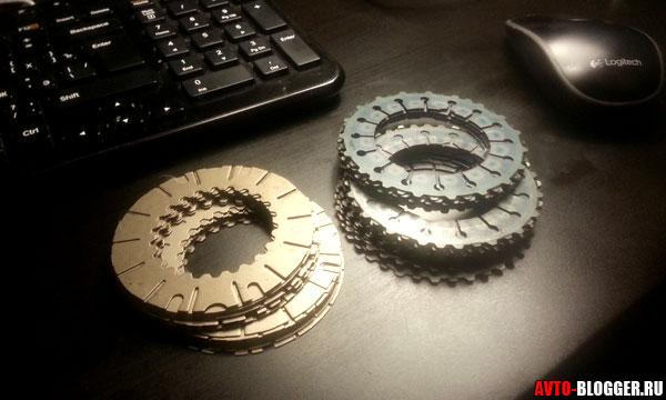 пакеты дисков