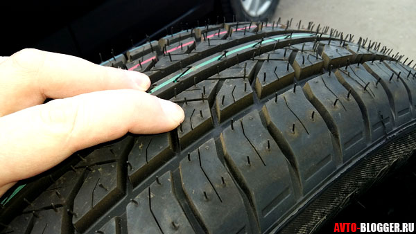 всесезонные шины протектор
