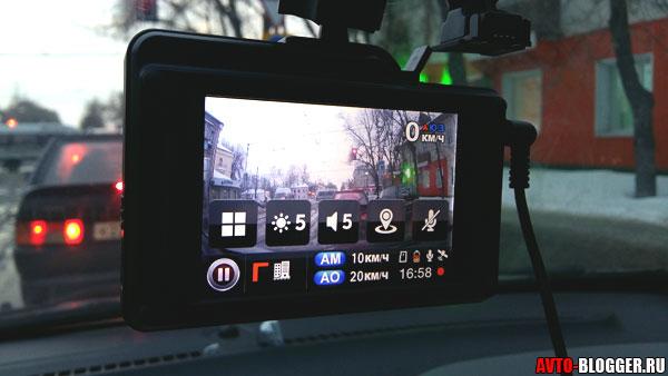 Режим видеорегистратора