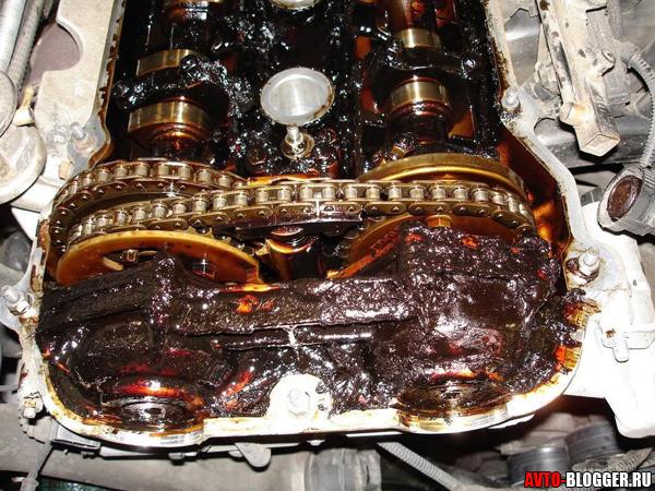 грязь в моторе