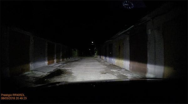 Плохое освещение передняя камера