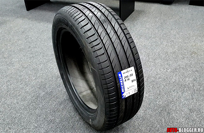 Michelin Primacy 4 отзывы