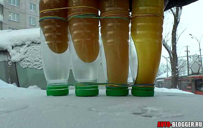 Замерзло масло